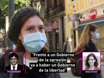 ¿Lo dijo Ayuso o Puigdemont? El juego de laSexta Columna que deja desconcertados a los ciudadanos