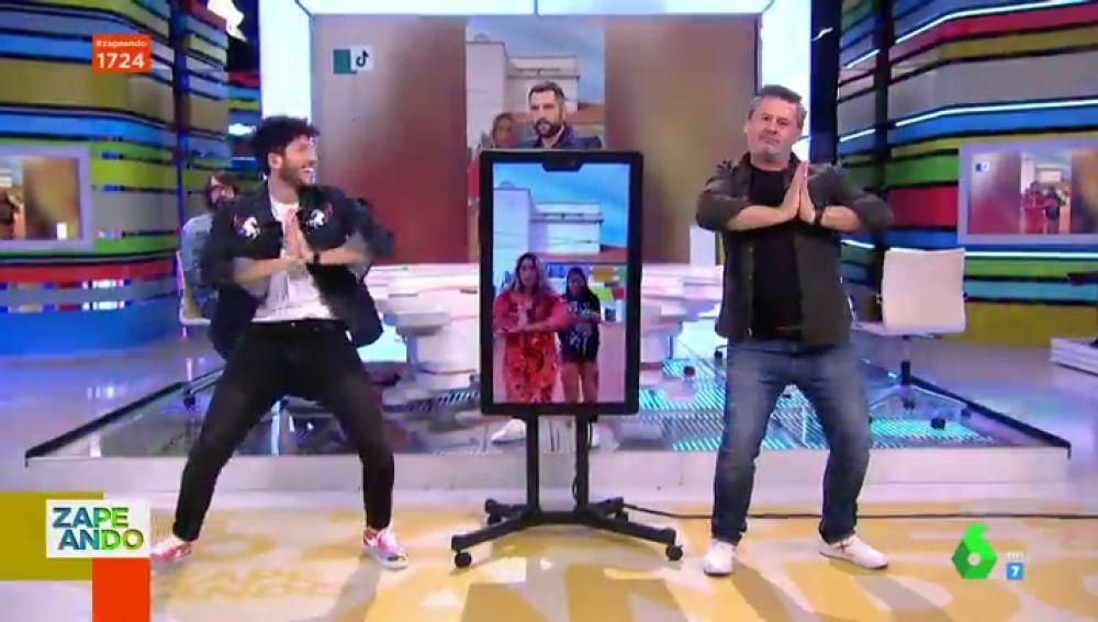 El duelo de baile entre Sebastian Yatra y Miki Nadal: así imitan las coreografías más conocidas de TiTtok