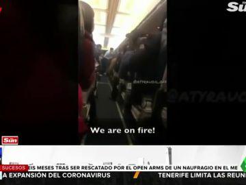 pánico avión