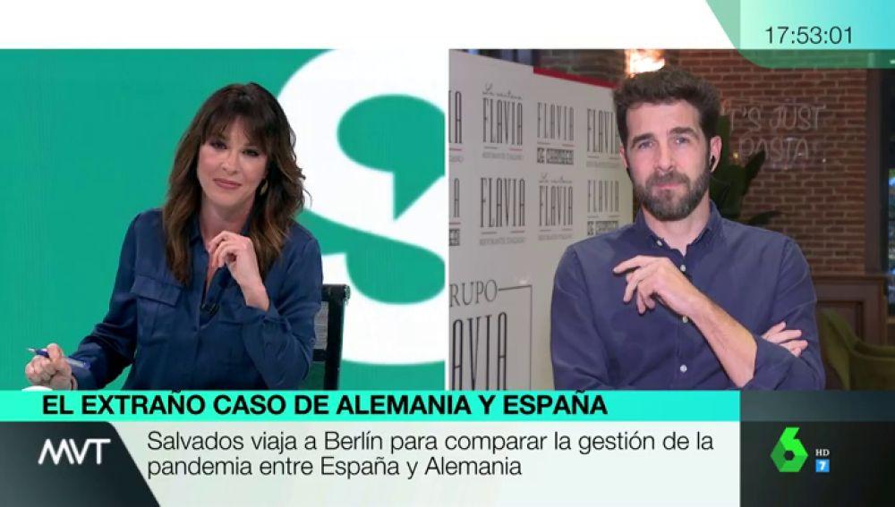 """Gonzo y Salvados viajan a Alemania para comparar su gestión con la de España: """"Tenemos el triple de muertos"""""""
