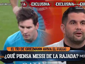 """Leo Messi, """"decepcionado"""" con Griezmann: """"Tiene muchas ganas de pedirle explicaciones"""""""