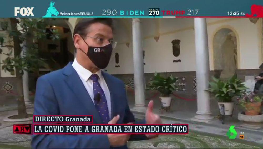 """El alcalde de Granada pide declarar la provincia zona catastrófica: """"Tendríamos que habernos confinado ya"""""""