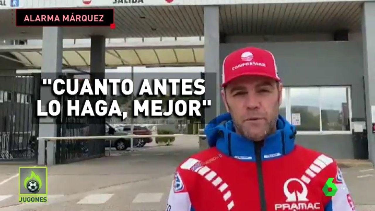 """El consejo de Fonsi Nieto para Marc Márquez: """"Cuanto antes lo haga..."""""""