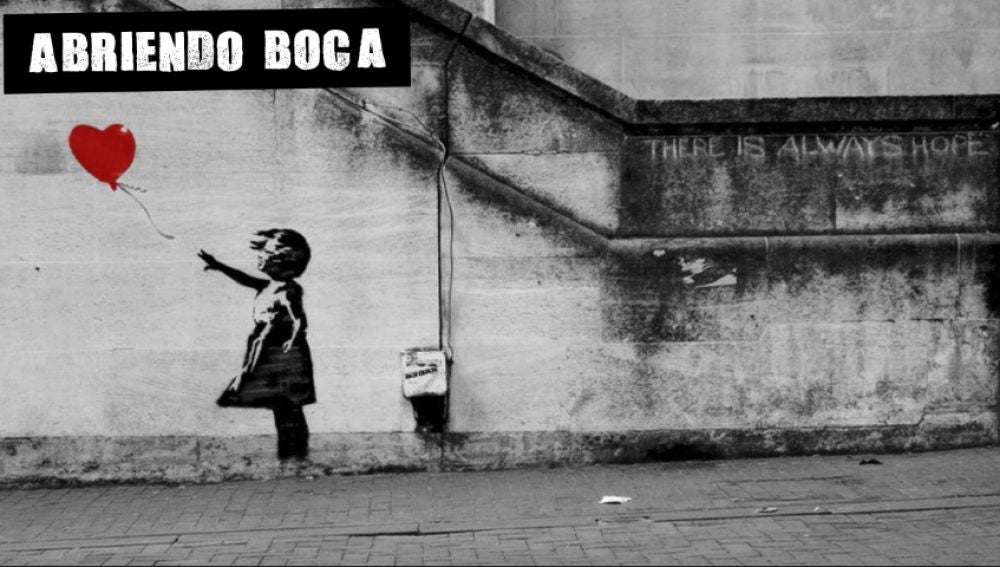 Niña con globo (Banksy)