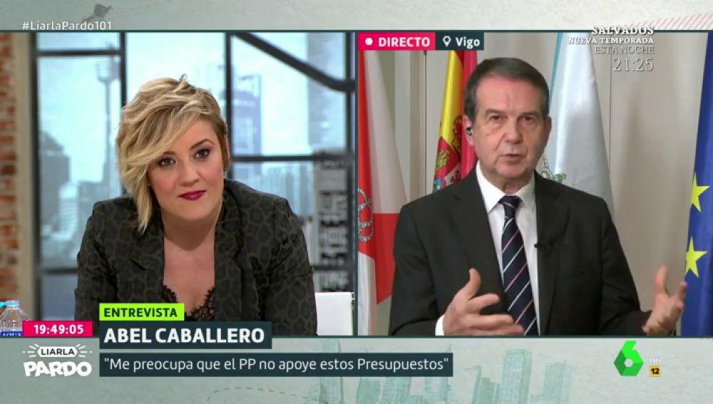 """Abel Caballero, sobre los Presupuestos: """"¿Con Ciudadanos o con Bildu? Sin duda con Ciudadanos"""""""