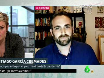 """La advertencia del matemático Santiago García: """"Hay que tener restricciones constantes y controladas para bajar los contagios"""""""