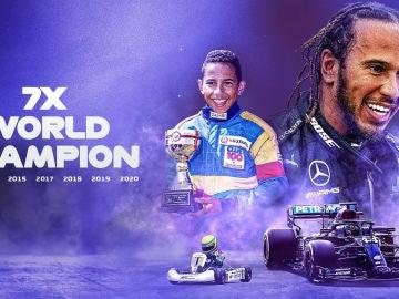 Lewis Hamilton, heptacampeón de F1