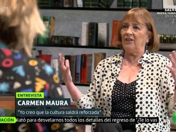 """Carmen Maura: """"¿Por qué coño tenemos que tener tantísimos políticos? No creo que piensen en nosotros"""""""