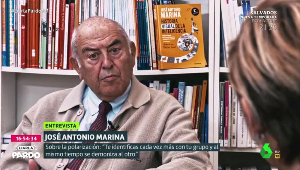 """La crítica de José Antonio Marina sobre el Congreso: """"Necesitamos que sirva para enfrentar argumentos y no a personas"""""""