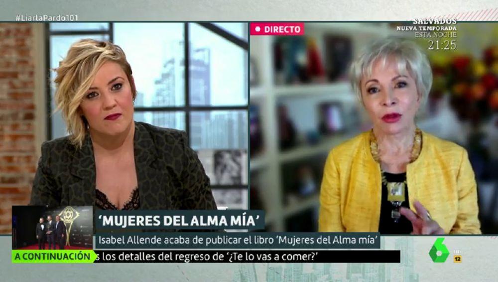 """Isabel Allende: """"Hay que terminar con el patriarcado y que la gerencia del mundo esté en manos de mujeres y hombres por igual"""""""
