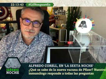 Alfredo Corell en laSexta Noche