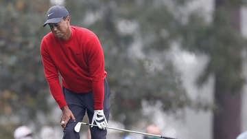 Tiger Woods, contrariado