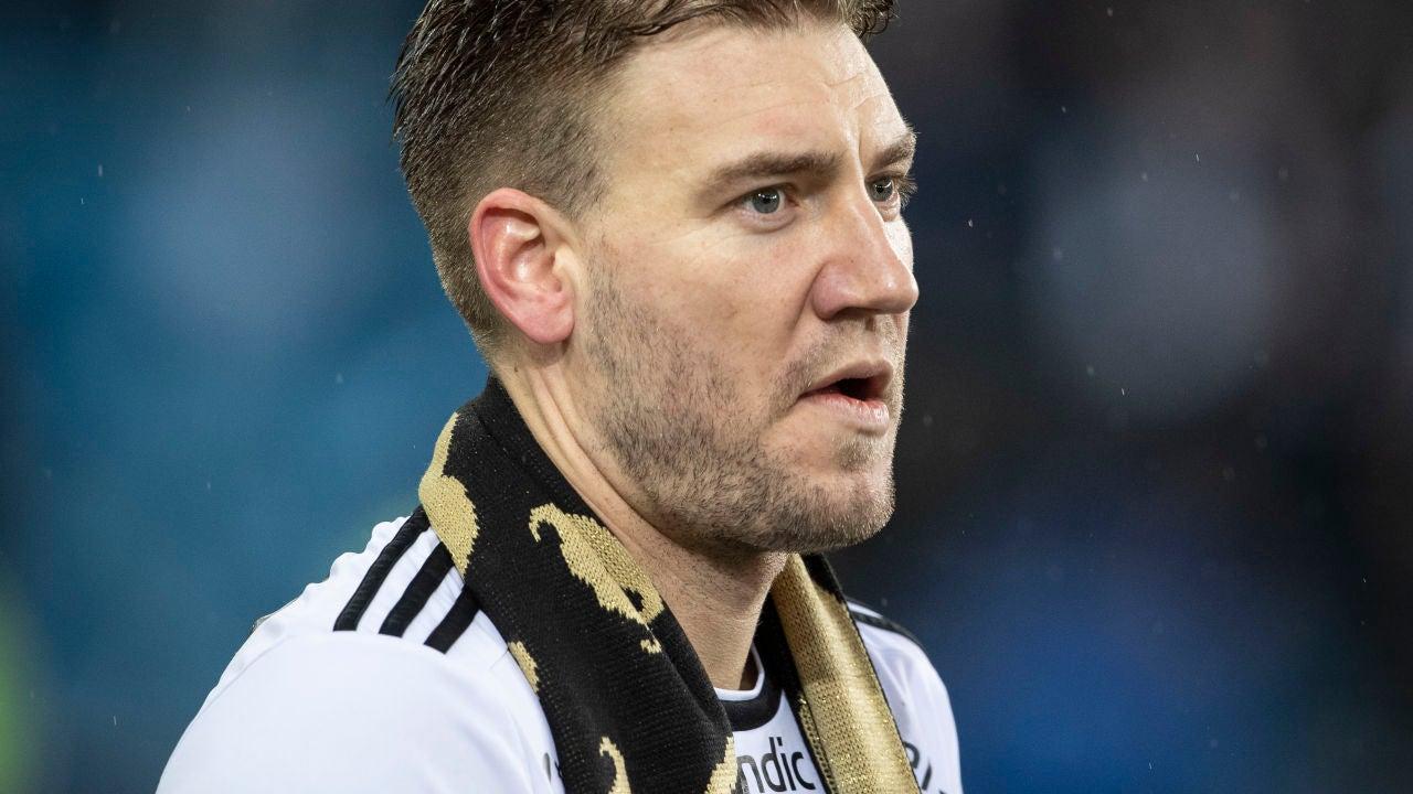 Nicklas Bendtner, en la final de la Norwegian Cup