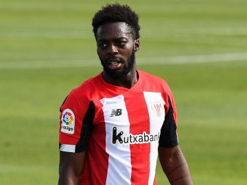 El jugador del Athletic Club de Bilbao Inaki Williams