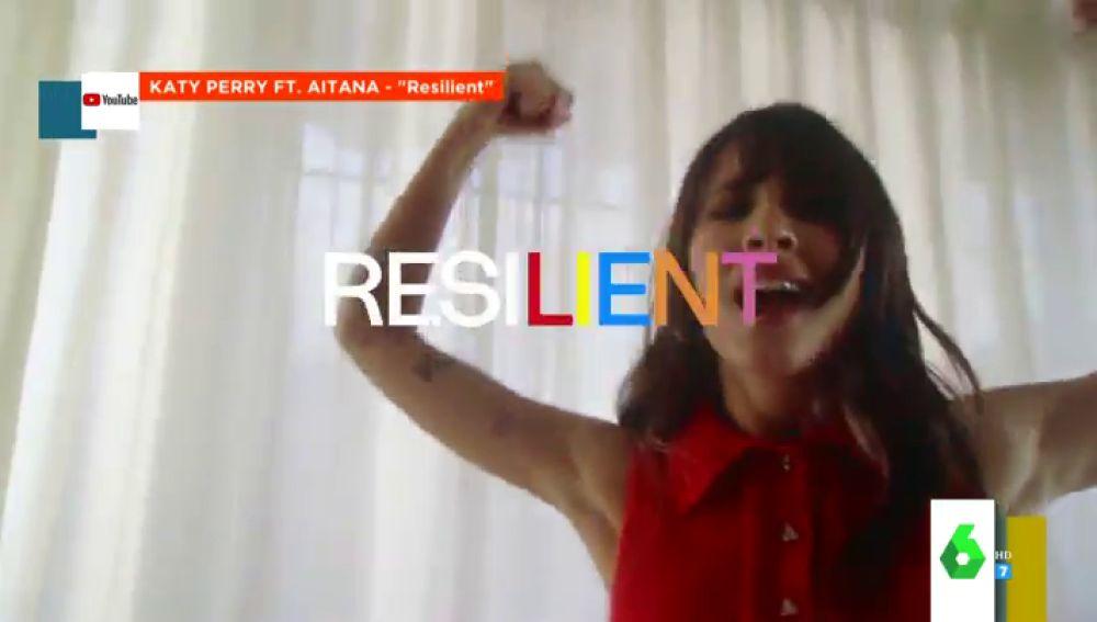 Aitana, Katy Perry y el temazo de moda, 'Resilient': así es el espectacular videoclip del que habla todo el mundo
