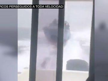 Impactante persecución a una narcolancha en el Estrecho: así se vivió desde la perspectiva de los detenidos