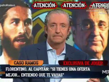 Exclusiva de Pedrerol: así fue la conversación entre Florentino Pérez y Sergio Ramos