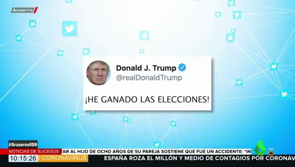 El troleo de las redes sociales a Trump tras decir que ha ganado las elecciones en Estados Unidos