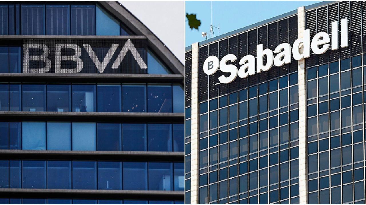 Posible fusión entre el BBVA y el Banco Sabadell
