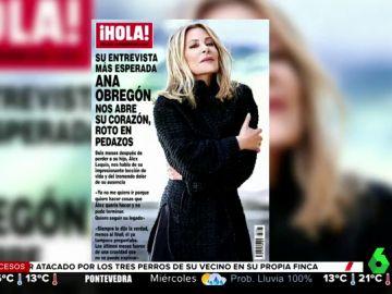 """Ana Obregón da su primera entrevista tras la muerte de su hijo: """"Ya no me quiero ir, quiero hacer lo que Álex no pudo terminar"""""""