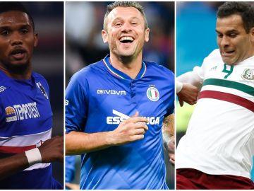 Eto'o, Cassano y Marquez, los tres fichajes que quiere el Racing de Murcia