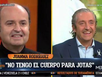 """El mote de Juanma Rodríguez a Pedrerol con el que Josep alucinó: """"Su 'Pedreroleza'"""""""