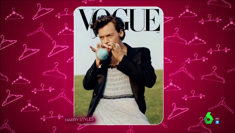 Harry Styles posa para Vogue