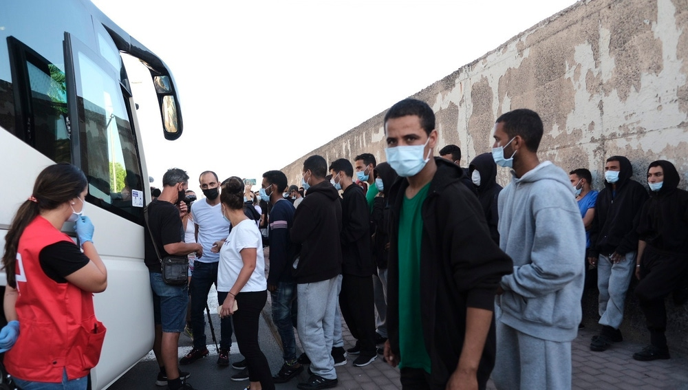 Realojados más de 100 migrantes liberados en Gran Canaria
