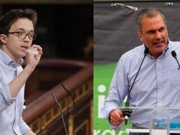 Íñigo Errejón y Javier Ortega Smith