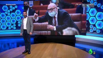 El mensaje de Dani Mateo tras los gritos e insultos del portavoz Vox en Andalucía
