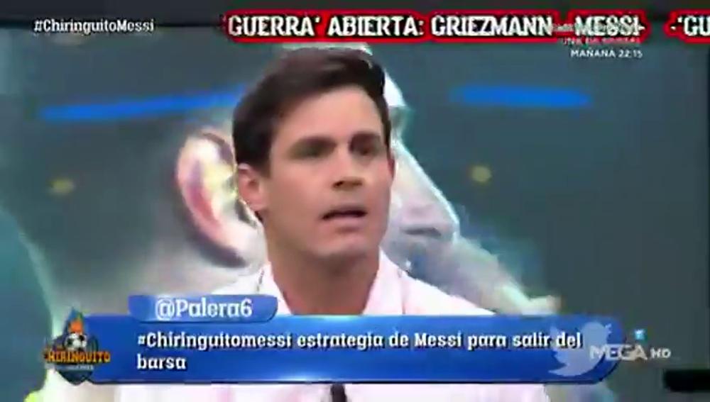"""Edu Aguirre defiende a Griezmann: """"¿Qué es eso de arrastrarse ante Messi?"""""""