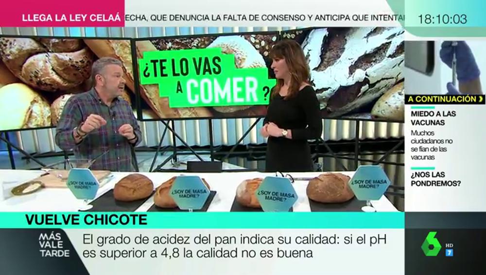 Los trucos de Alberto Chicote para saber si nos timan con el pan de masa madre