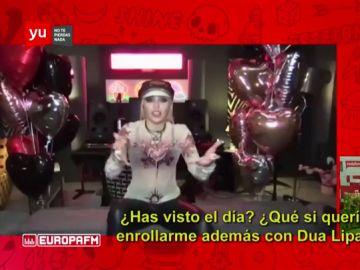 Miley Cyrus responde a Ana Morgade sobre su explosivo videoclip con Dua Lipa