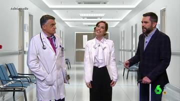 """Ayuso 'enseña' a 'Wyoming' el nuevo hospital de pandemias: """"¿Quirófanos? No sé de qué me habla"""""""