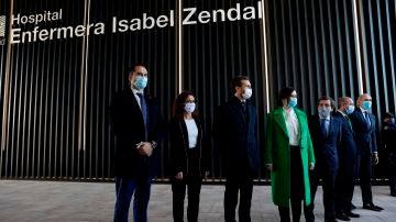 Inauguración del Hospital Enfermera Isabel Zendal
