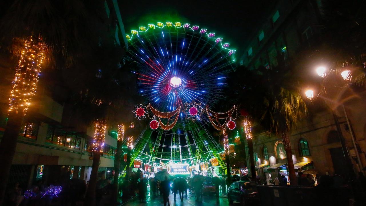 ¿Cuánto cuestan las luces de Navidad de Vigo? Esto es lo que pasa si las comparas con otras ciudades