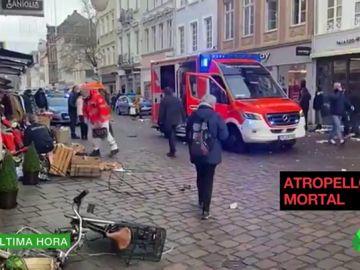 Dos muertos y varios heridos en un atropello múltiple en la ciudad alemana de Tréveris