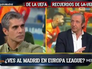 """La bancada madridista rechaza la Europa League: """"Prefiero caer en octavos de Champions"""""""