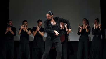 Rafael Amargo actuando en San Sebastian