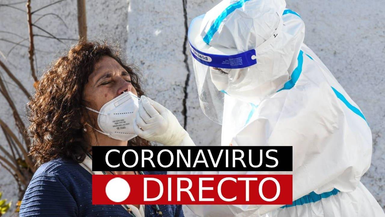 Coronavirus España   Plan de restricciones para Navidad y en el puente de Diciembre, noticias del COVID-19, en directo