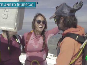"""La alpinista invidente que ha llegado a la cima del Aneto: """"Quería saber qué límites existen"""""""