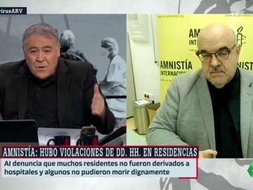 informe Amnistia residencias
