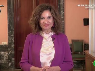 La prueba de que María Jesús Montero ha 'celebrado' los nuevos Presupuestos a ritmo de bulerías