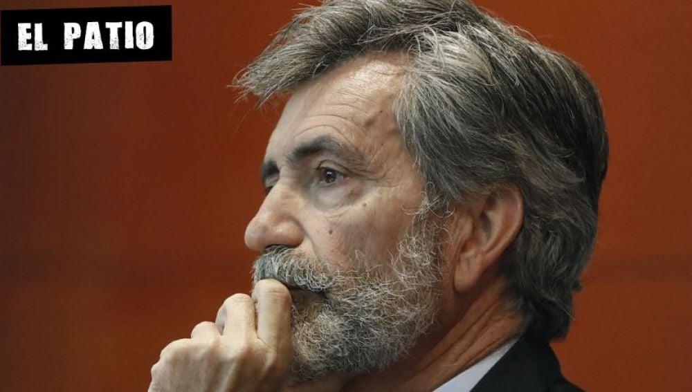 El presidente del Consejo General del Poder Judicial Carlos Lesmes