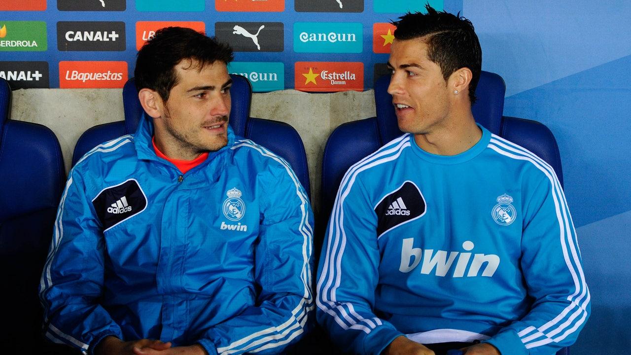 Cristiano Ronaldo e Iker Casillas