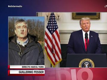 """Guillermo Fesser: """"Cuantas más zancadillas ponga Trump a Biden, mejor le va a ir como futuro candidato"""""""