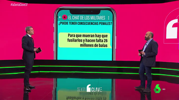 ¿Hay delito en el chat de los militares que piden fusilar a 26 millones de españoles?