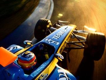 El RS25 de Fernando Alonso
