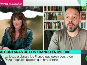 """Maestre carga contra los Franco por el Pazo de Meirás: """"Han tenido ese patrimonio por un golpe de Estado fascista"""""""