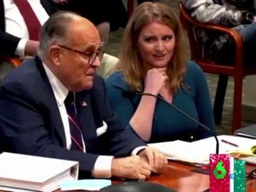 """""""¿En serio se está peyendo como las cabras?"""": el incómodo momento del abogado de Trump en la audiencia de Michigan"""